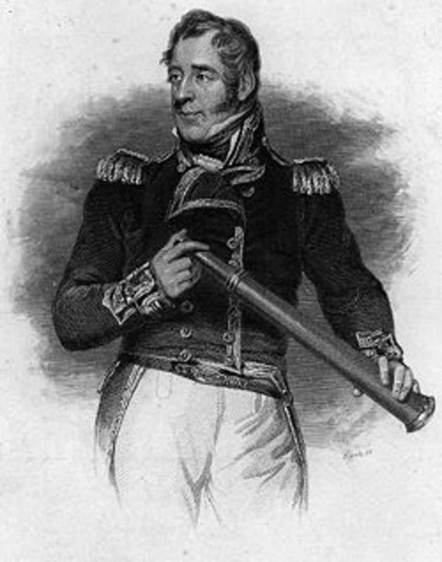 1 Real 1819 Fernando VII- Lima -(Moneda Perforada)  AAA_THOMAS_COCHRANE