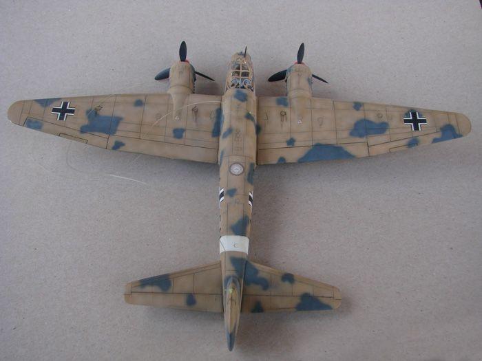 Junkers Ju-88A-4, Revell(rebuild), 1/72 DSC03198