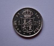 1 real 1859. Isabel II. Madrid DSC00775