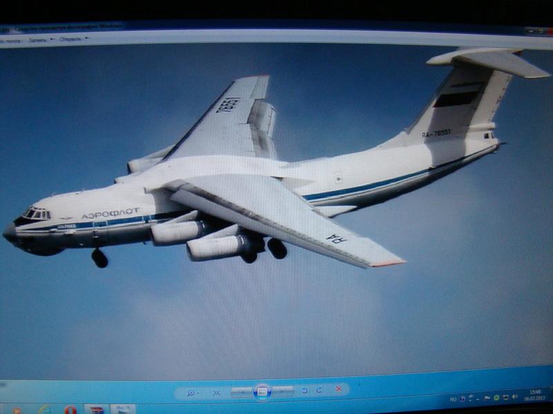 Ил-76 МД   TRUMPETER  М1:144 DSC07168