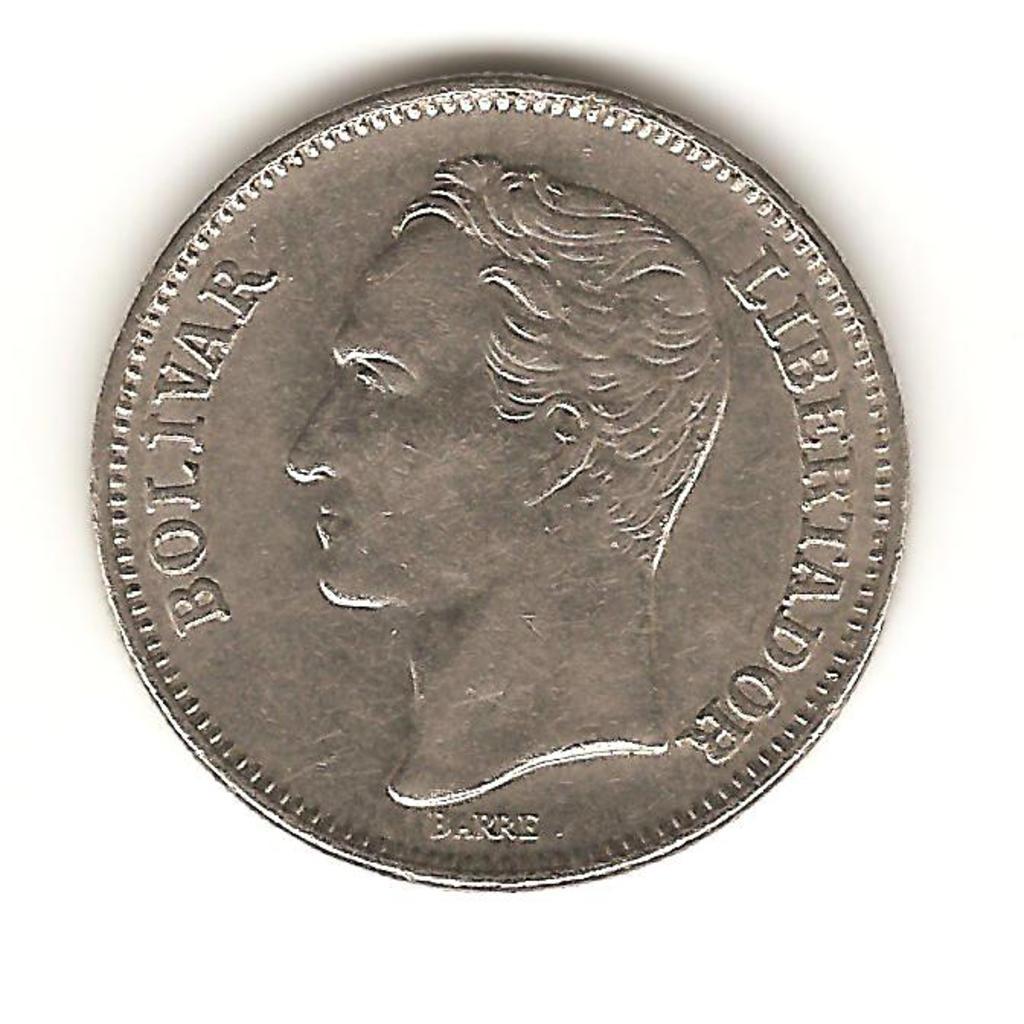 1 bolívar de Venezuela año 1967 Image