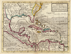 1 peso cubano 1932 250px_Moll_A_Map_of_the_West_Indies