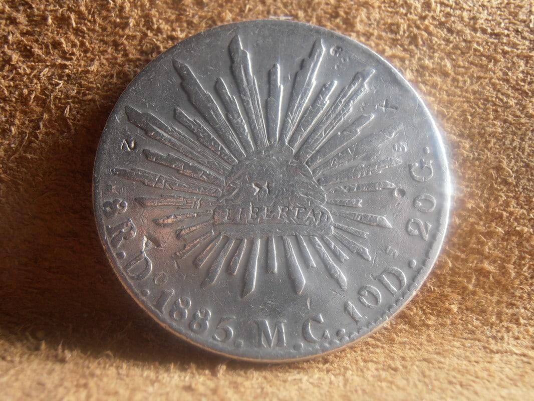 8 Reales 1885 Durango P2238603