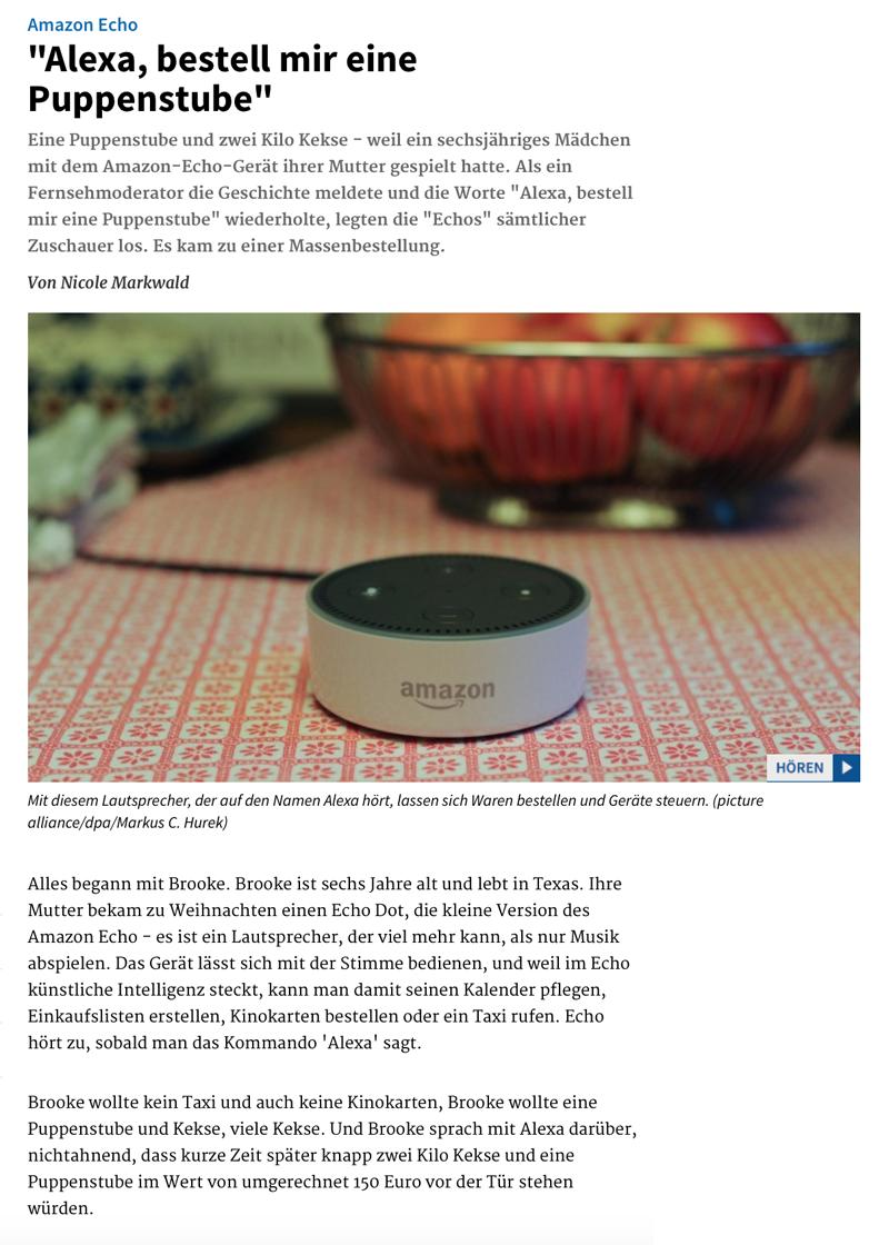 Technologie 'above' – wenn 'sie' uns zeigen, was 'sie' wirklich draufhaben! - Seite 6 Alexa