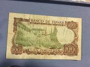 RAREZA: Billete de 100 pesetas del color de uno de 1000 por el anverso IMG_6234