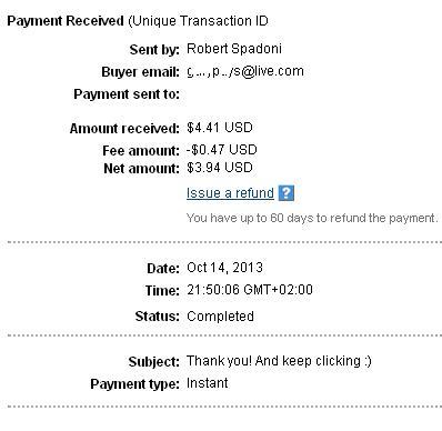 2º Pago de Exabux ( $4,41 ) Exabuxpayment