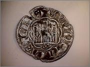 Dinero noven de Alfonso X de Castilla 1252-1284 Sevilla. R128_1