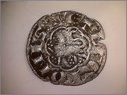 Dinero noven de Alfonso X de Castilla 1252-1284 Sevilla. R128