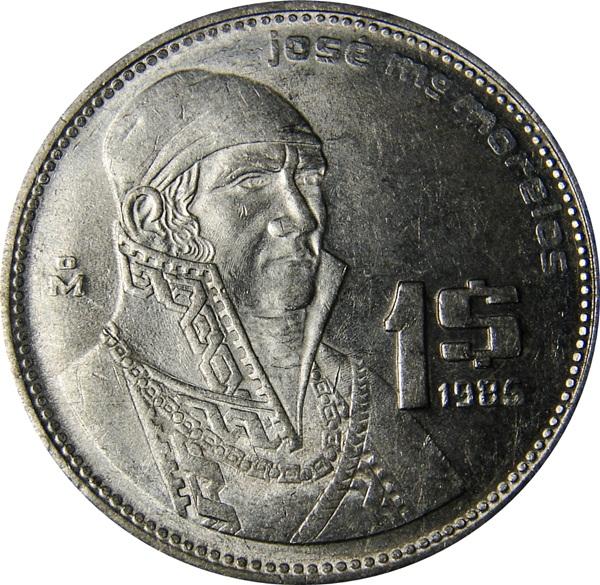 1 Peso. 1971. México 85_OBV