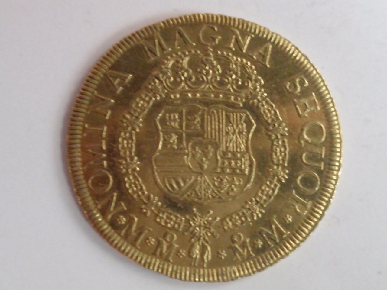 8 escudos 1757. Fernando VI. Méjico. (Eddy et JO3023 pro magnificentia et gloria publica dedit). FERVII_001