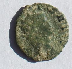 Antoniniano de Galieno. ABVNDANTIA AVG. Cca Roma. Galieno_anv