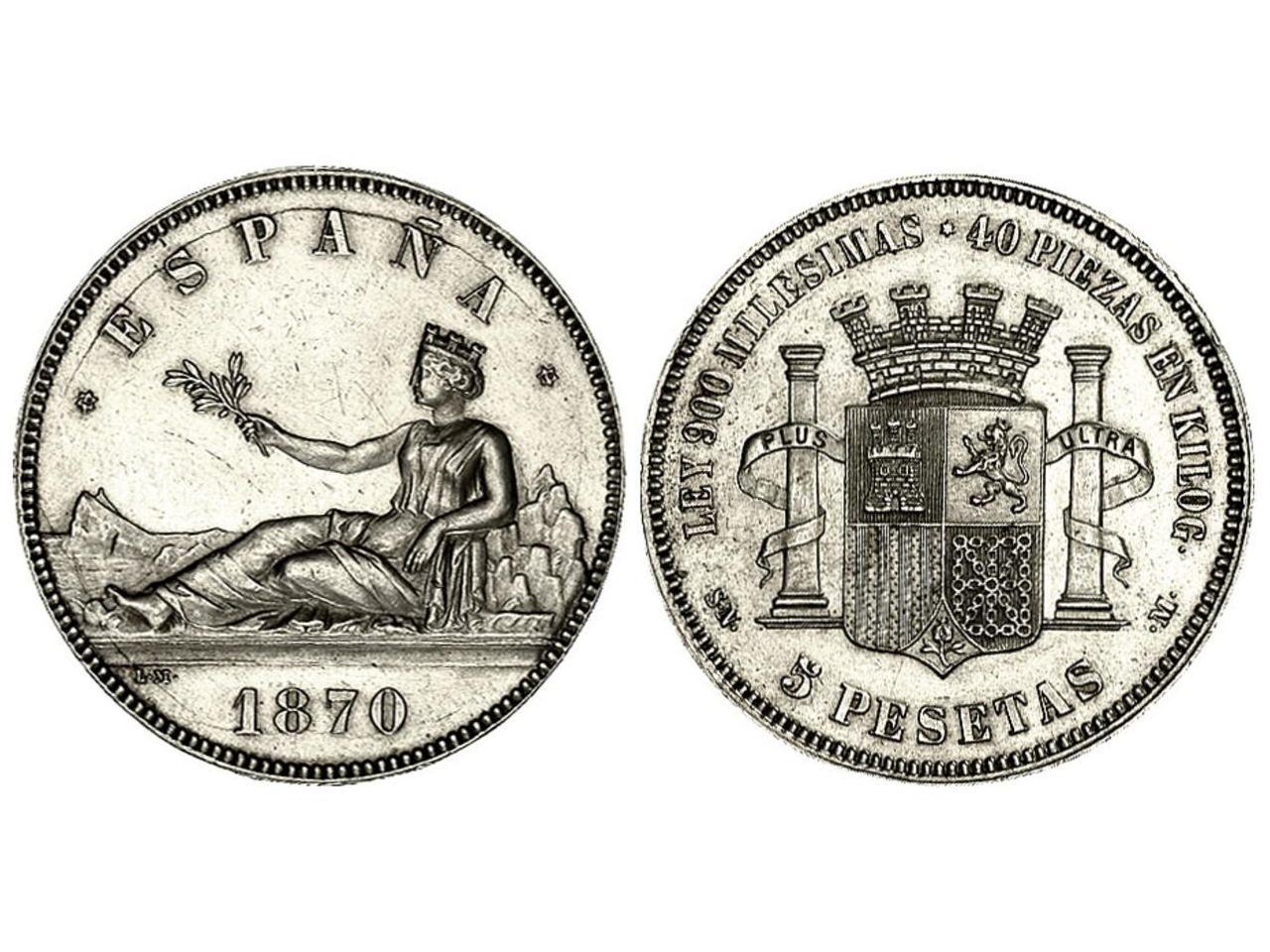 Gobierno Provisional - 5 pesetas - ¿Cuño diferente? 5_pesetas_1870_SC
