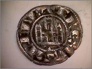Dinero Pepión de Fernando IV de Castilla 1295-1312 Toledo. R101