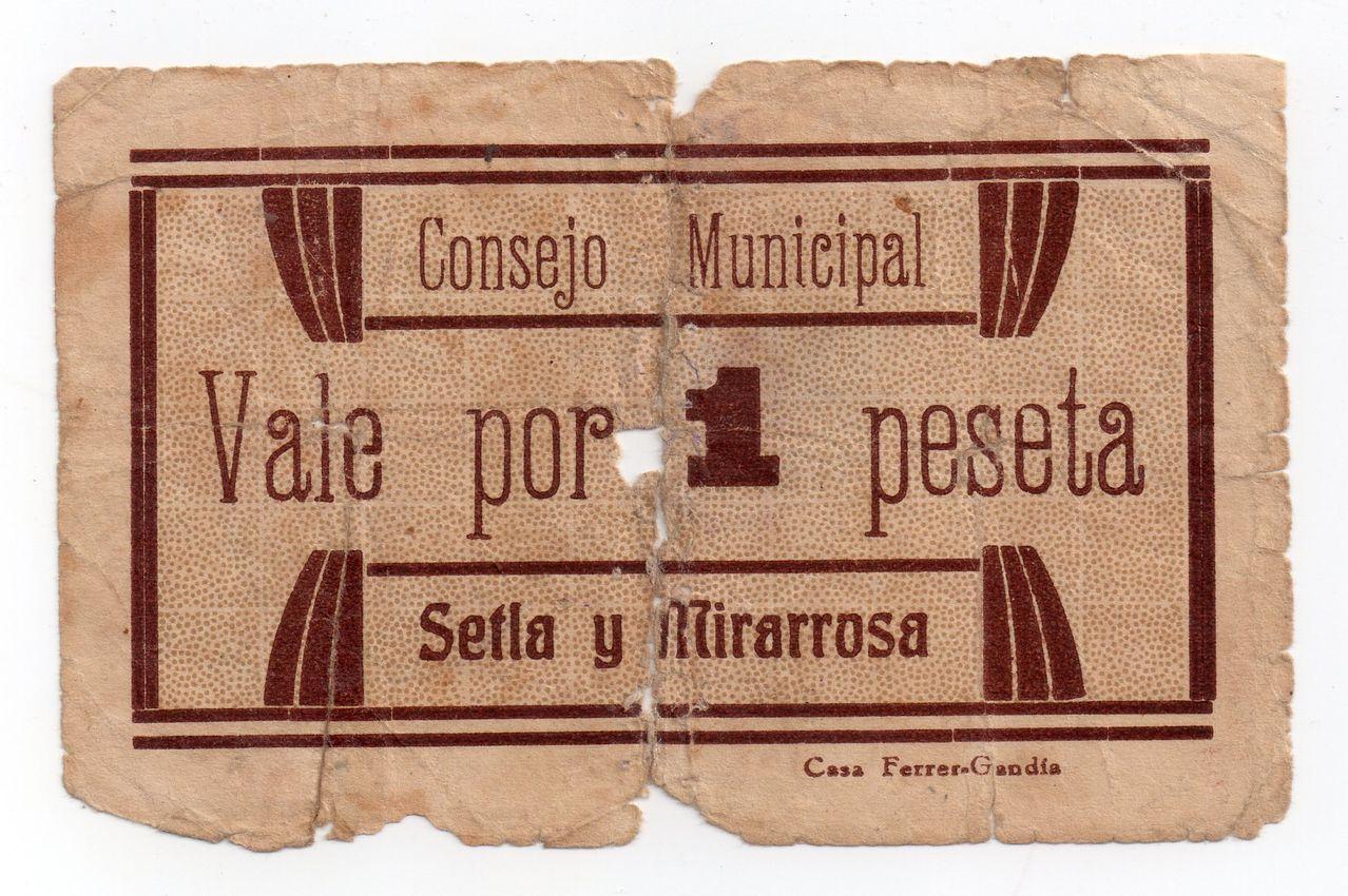 1 Peseta de Setla y Mirarrosa (Alicante) Img160