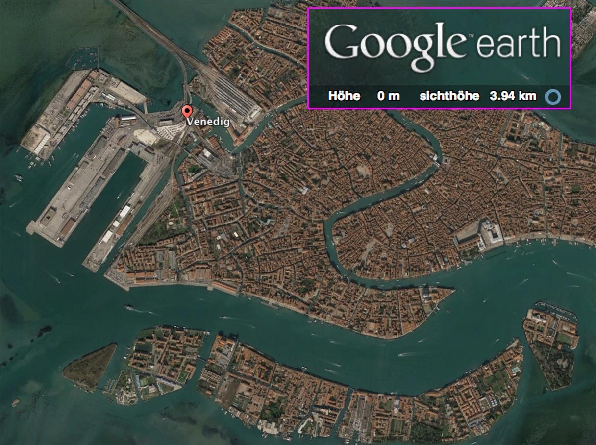 Die Erde, in der wir leben und der Raum, der die Welt ist - Seite 43 Venedig