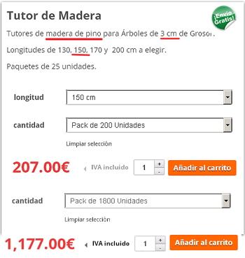 TUTORES PARA OLIVO Tutor_pino