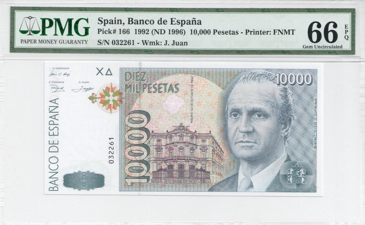 Colección de billetes españoles, sin serie o serie A de Sefcor - Página 3 10000_ptas_92_anverso