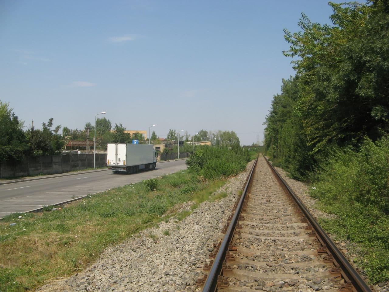 Calea ferată directă Oradea Vest - Episcopia Bihor IMG_0045