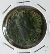 Sestercio de Antonino Pío. ANNONA AVG - S C. Annona estante a dcha. Ceca Roma. IMG_20170424_123346_01