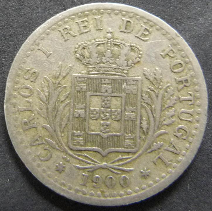 100 Reis. Portugal (1900) POR_100_Reis_Carlos_I_anv