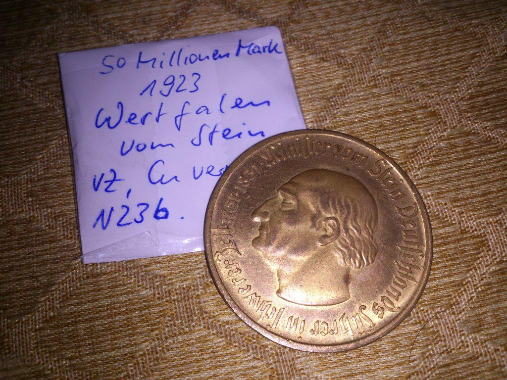 Monedas de emergencia emitidas por el banco regional de Westphalia DSC_9199