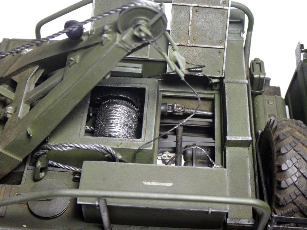 Колесный эвакуационный тягач КЭТ-Л DSC00790