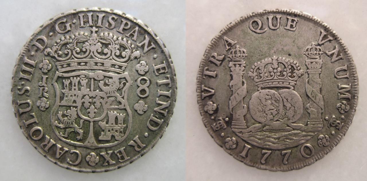 """8 reales """"columnario"""" 1770. Carlos III. Potosí 8_reales_Carlos_III_Potos_1770"""