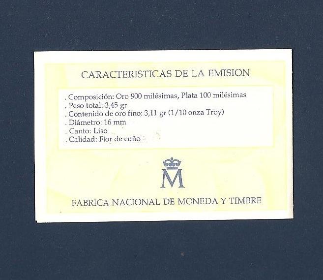 PRECIOSA MONEDA DE 10 ECUS ORO 1989. MUY BONITA Imagen_14