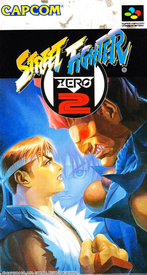 Les plus belles jaquettes du jeu vidéo - Page 3 Street_Fighter_Zero_2_SFami_Jp