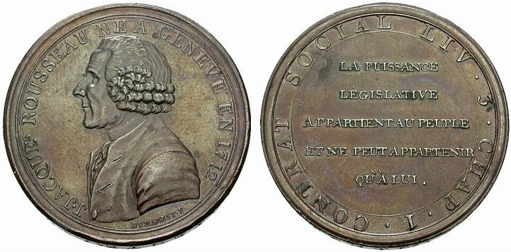 5 Sols Monneron Freres 1793 Francia Monneronrousseau