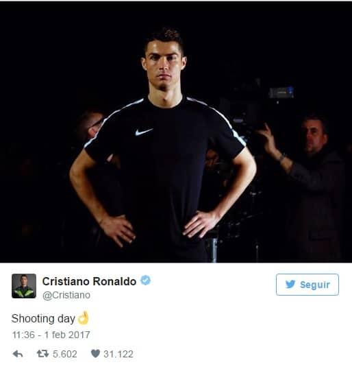 Esto Es Lo Que Gana Cristiano Ronaldo Por Aparecer En La Cuenta De Twitter De Nike EEW