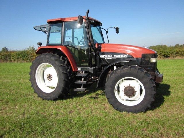 Hilo de tractores antiguos. - Página 25 NH_M100