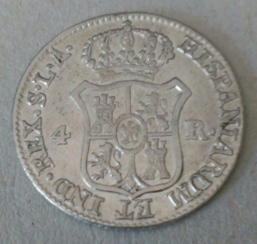 4 reales 1812. Jose Napoleón. Sevilla 2_1