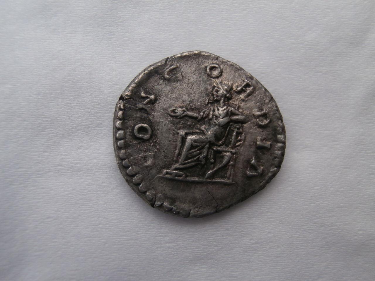 Denario de Lucila. CONCORDIA. Ceca Roma. P4170331