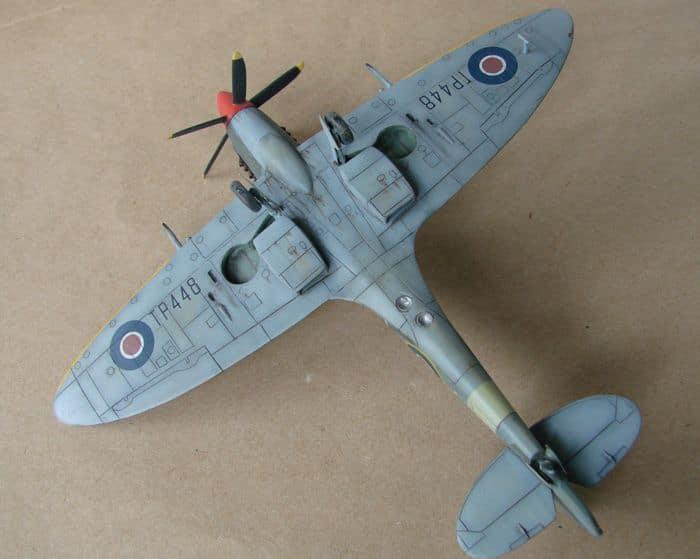 Spitfire Mk.XVIII FR, MPM, 1/72 DSC00431