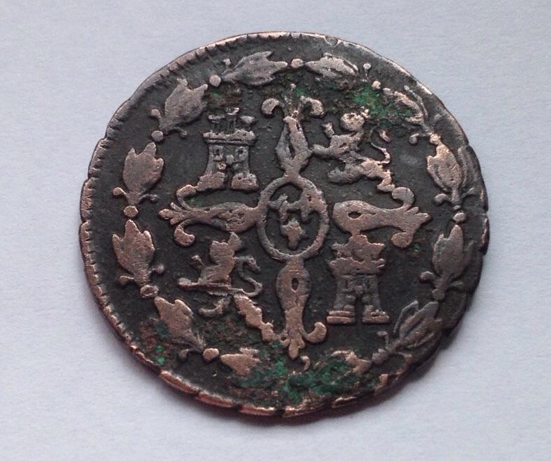 4 maravedies 1781 Segovia - Carlos III Image