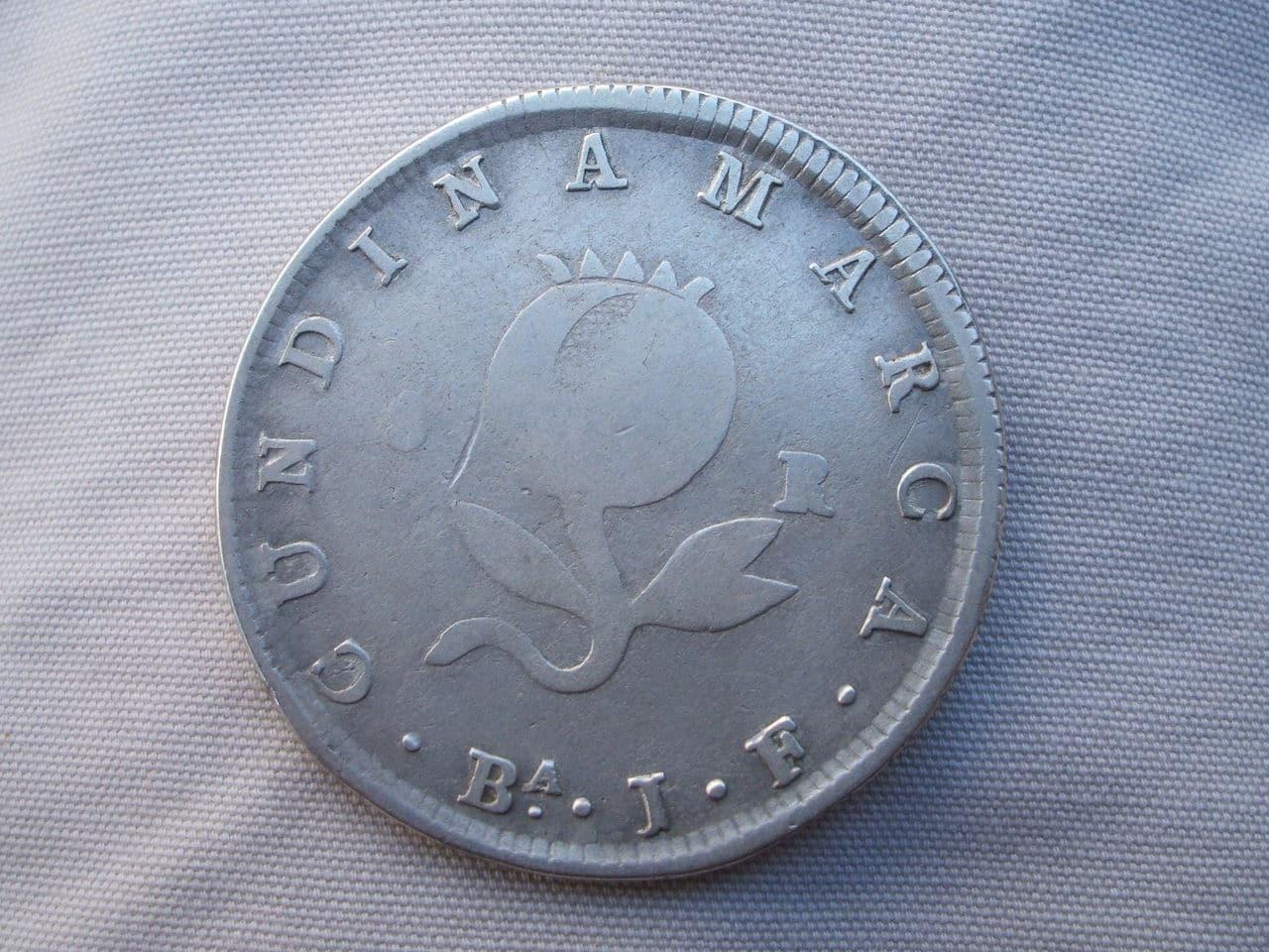 cundinamarca - 8 Reales. Colombia. 1821. Cundinamarca Si_3