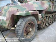 Немецкий средний бронетранспортер SdKfz 251/7  Ausf D,  Musee des Blindes, Saumur, France 251_7_Saumur_024