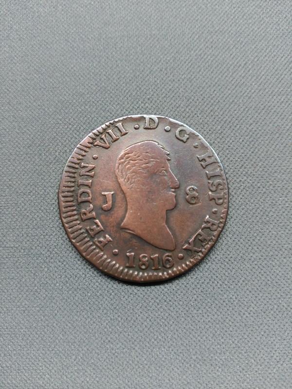 8 maravedis 1816. Fernando VII. Jubia IMG_20170121_200524