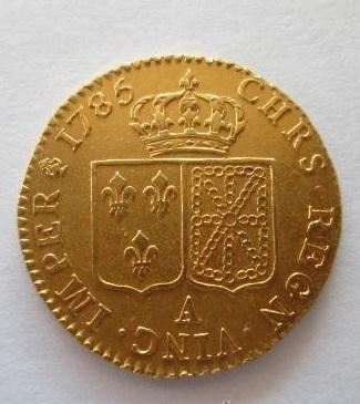 PRECIOSA MONEDA de oro de Luis XVI.Muy bonita. 37855399_15273339