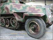 Немецкий средний бронетранспортер SdKfz 251/7  Ausf D,  Musee des Blindes, Saumur, France 251_7_Saumur_007
