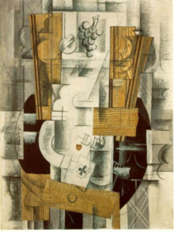 Zorz Brak ( Georges Braque ) - Page 3 Fruit_dish_1913_225x300