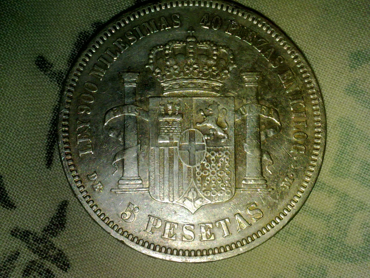 5 pesetas 1871.. Amadeo de Saboya Lkl_018