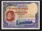 """500 Pesetas 1935 (Serie """"Repeticiones"""" 1) 500_35_1"""