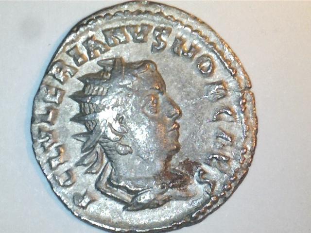 Antoniniano Valeriano II. PRINCIPI I-VVENT. Ceca Roma. Image