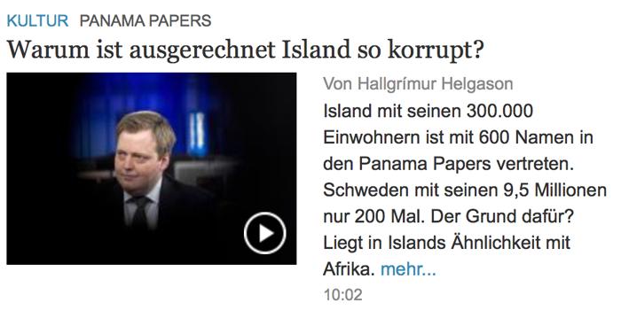 Presseschau - Seite 7 Island