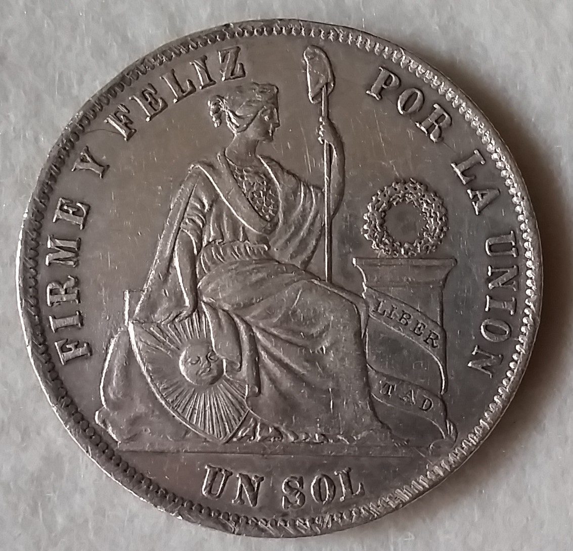 1 Sol Perú 1873 YJ 20160330_192717