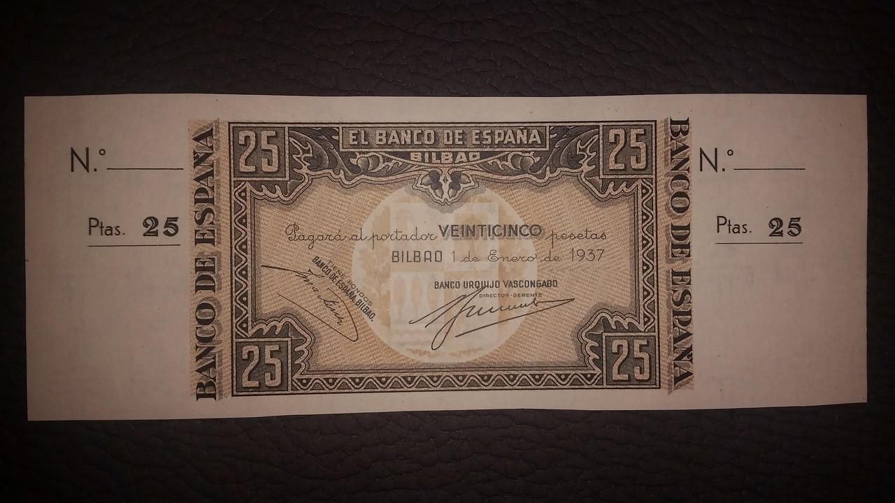 Colección de billetes españoles, sin serie o serie A de Sefcor pendientes de graduar - Página 2 20170217_204225