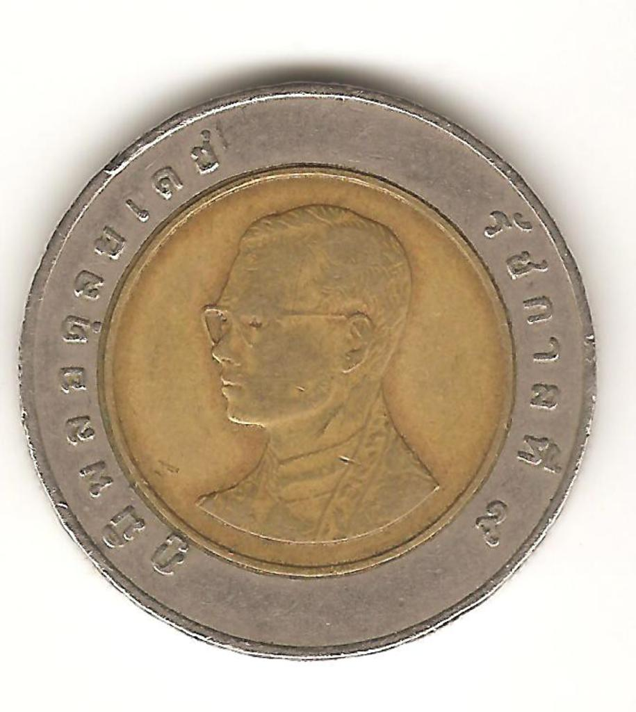 10 baht de Tailandia (1994) Image