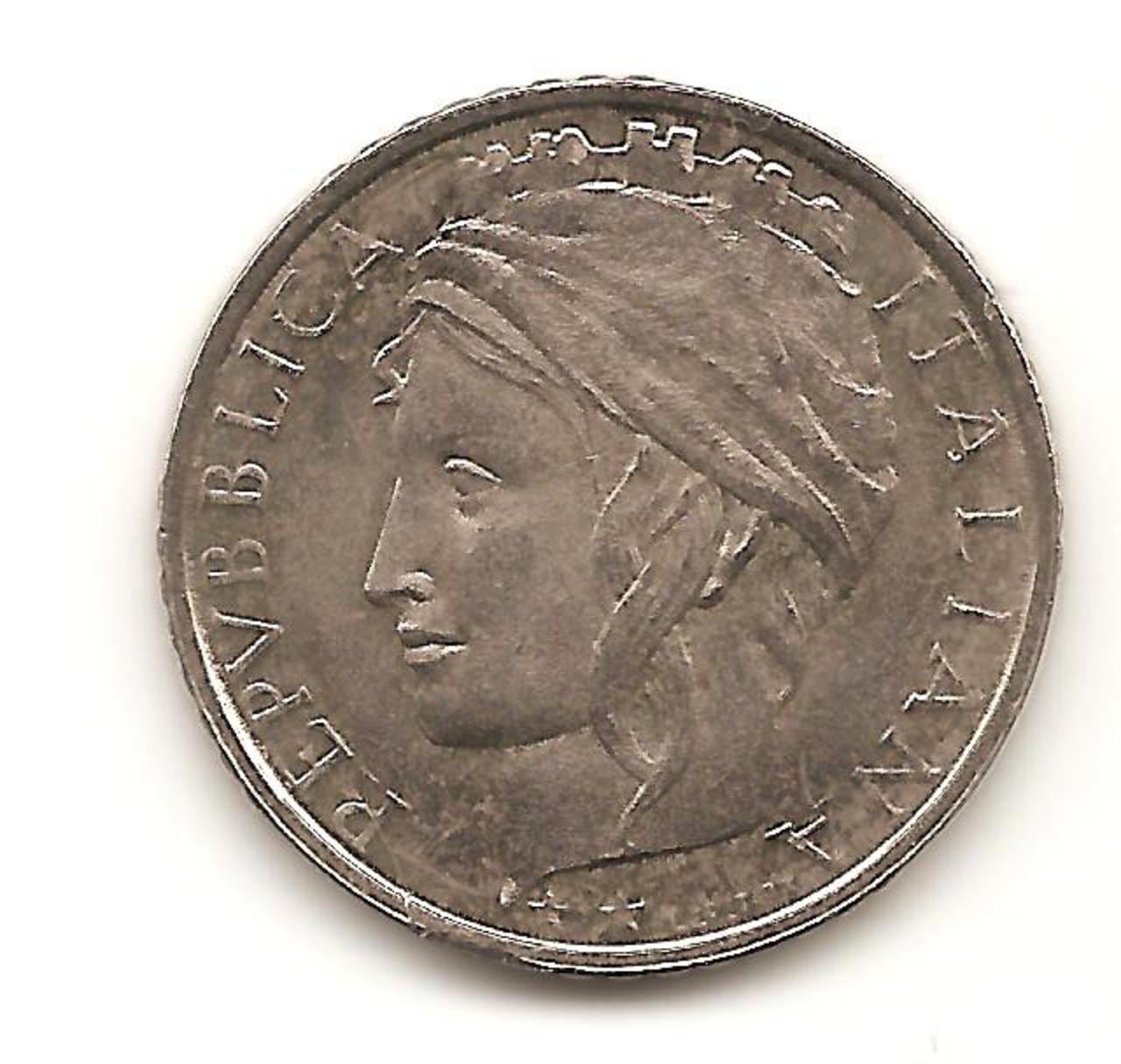 100 Lire. Italia. 1993. Roma  Image